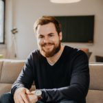 Porträtfoto von Benedikt Ilg, CEO und Gründer von App Flip