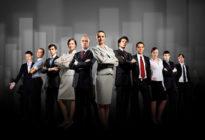 Gruppe von Businessleuten