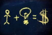 Humankapital plus Idee gleich: Geld und Erfolg