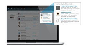 Beispiele für LinkedIn Textanzeige