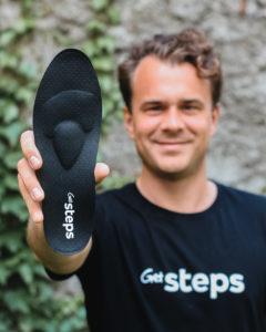 Porträtfoto von Vincent Hoursch, Co-Gründer von GetSteps