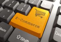 Tastatur mit E-Commerce Taste