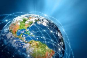 Globus als Symbol für Weltmarktfüher