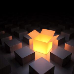 Luminierte Box