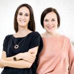 Schwangerschaftsapp uma und Gründerinnen Mirjam Peters und Elena Kirchner-©OliverTjaden