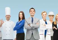 Personen aus unterschiedlichen Berufen