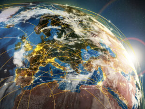 Globale Vernetzung durch Digitalisierung