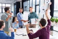 Team im Start-up