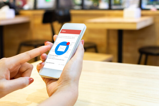 E-Mail-Marketing auf Handy