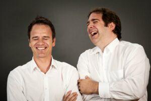 Die Gründer von Talk'n'Job, Markus Krampe und Philipp Mommsen