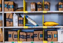 Amazon Store mit Paketen