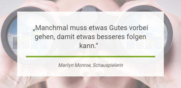 Marilyn Monroe: Manchmal muss was Gutes