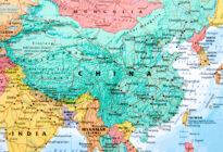 Landkarte China